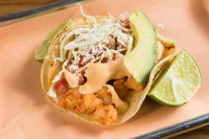 Shrimp Taco in FiDi NYC